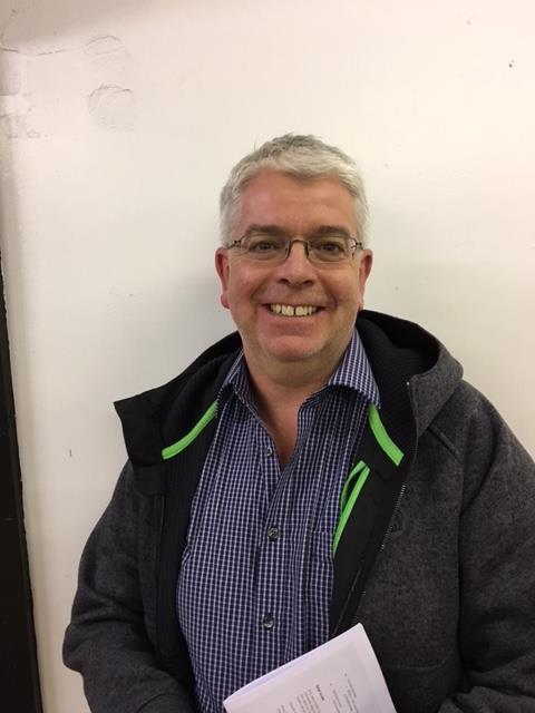 Kevin Harding, Vice Chair of the Parish Council